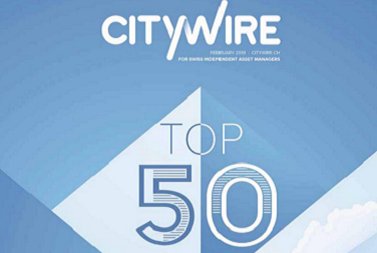 Citywire Switzerland – Top 50 – Februar 2019 (Englisch)